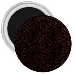 Tribal Geometric Vintage Pattern  3  Button Magnet