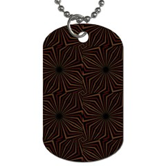Tribal Geometric Vintage Pattern  Dog Tag (one Sided) by dflcprints