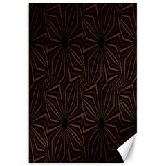 Tribal Geometric Vintage Pattern  Canvas 20  X 30  (unframed) by dflcprints
