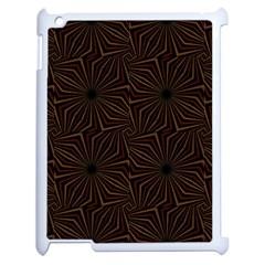 Tribal Geometric Vintage Pattern  Apple iPad 2 Case (White) by dflcprints