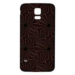 Tribal Geometric Vintage Pattern  Samsung Galaxy S5 Back Case (white) by dflcprints