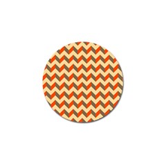Modern Retro Chevron Patchwork Pattern  Golf Ball Marker 4 Pack by creativemom