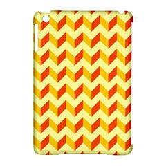 Modern Retro Chevron Patchwork Pattern  Apple Ipad Mini Hardshell Case (compatible With Smart Cover) by creativemom