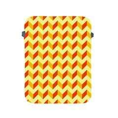 Modern Retro Chevron Patchwork Pattern  Apple Ipad Protective Sleeve by creativemom