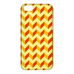 Modern Retro Chevron Patchwork Pattern  Apple Iphone 5c Hardshell Case by creativemom
