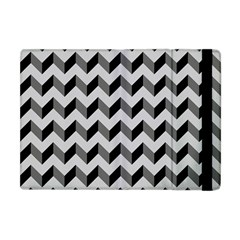 Modern Retro Chevron Patchwork Pattern  Apple Ipad Mini Flip Case by creativemom