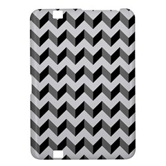 Modern Retro Chevron Patchwork Pattern  Kindle Fire Hd 8 9  Hardshell Case by creativemom
