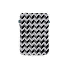Modern Retro Chevron Patchwork Pattern  Apple Ipad Mini Protective Sleeve by creativemom