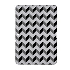 Modern Retro Chevron Patchwork Pattern  Samsung Galaxy Tab 2 (10 1 ) P5100 Hardshell Case  by creativemom