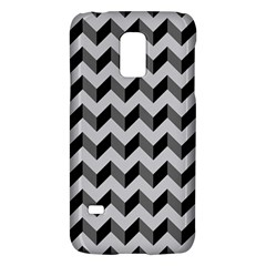 Modern Retro Chevron Patchwork Pattern  Samsung Galaxy S5 Mini Hardshell Case  by creativemom