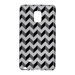 Modern Retro Chevron Patchwork Pattern  Samsung Galaxy Note Edge Hardshell Case by creativemom