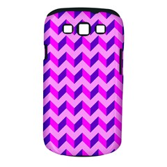 Modern Retro Chevron Patchwork Pattern Samsung Galaxy S Iii Classic Hardshell Case (pc+silicone) by creativemom