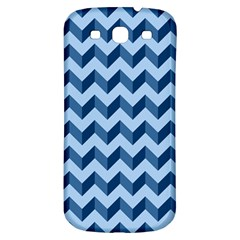 Tiffany Blue Modern Retro Chevron Patchwork Pattern Samsung Galaxy S3 S Iii Classic Hardshell Back Case by creativemom