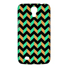 Neon And Black Modern Retro Chevron Patchwork Pattern Samsung Galaxy Mega 6 3  I9200 Hardshell Case by creativemom