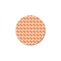 Modern Retro Chevron Patchwork Pattern Golf Ball Marker 4 Pack by creativemom