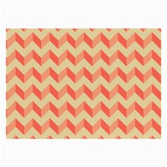 Modern Retro Chevron Patchwork Pattern Glasses Cloth (large) by creativemom