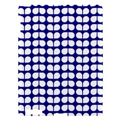 Blue And White Leaf Pattern Apple Ipad 3/4 Hardshell Case by creativemom
