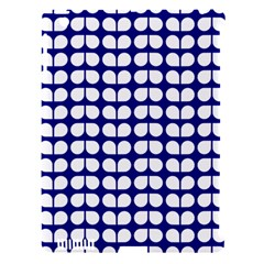Blue And White Leaf Pattern Apple Ipad 3/4 Hardshell Case (compatible With Smart Cover) by creativemom