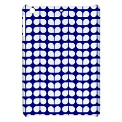 Blue And White Leaf Pattern Apple Ipad Mini Hardshell Case by creativemom