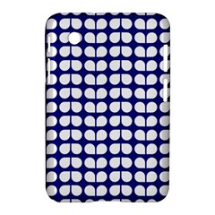 Blue And White Leaf Pattern Samsung Galaxy Tab 2 (7 ) P3100 Hardshell Case  by creativemom