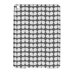 Gray And White Leaf Pattern Apple Ipad Air 2 Hardshell Case by creativemom