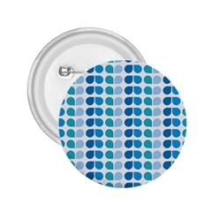 Blue Green Leaf Pattern 2 25  Button by creativemom