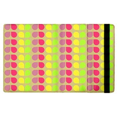 Colorful Leaf Pattern Apple Ipad 2 Flip Case by creativemom