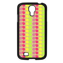 Colorful Leaf Pattern Samsung Galaxy S4 I9500/ I9505 Case (black) by creativemom