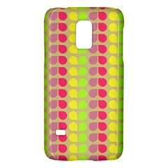 Colorful Leaf Pattern Samsung Galaxy S5 Mini Hardshell Case  by creativemom