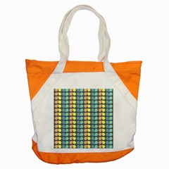 Colorful Leaf Pattern Accent Tote Bag by creativemom