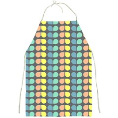 Colorful Leaf Pattern Apron by creativemom