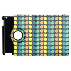 Colorful Leaf Pattern Apple Ipad 3/4 Flip 360 Case by creativemom