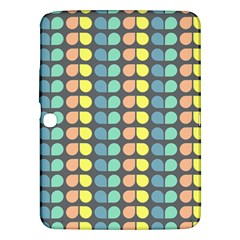 Colorful Leaf Pattern Samsung Galaxy Tab 3 (10 1 ) P5200 Hardshell Case  by creativemom