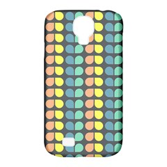 Colorful Leaf Pattern Samsung Galaxy S4 Classic Hardshell Case (pc+silicone) by creativemom