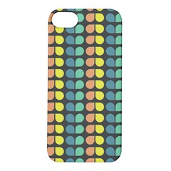 Colorful Leaf Pattern Apple Iphone 5s Hardshell Case by creativemom