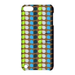 Colorful Leaf Pattern Apple Ipod Touch 5 Hardshell Case With Stand by creativemom