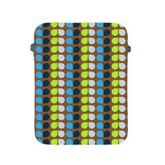 Colorful Leaf Pattern Apple Ipad Protective Sleeve by creativemom