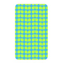 Blue Lime Leaf Pattern Memory Card Reader (rectangular) by creativemom