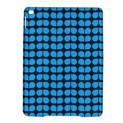 Blue Gray Leaf Pattern Apple Ipad Air 2 Hardshell Case by creativemom