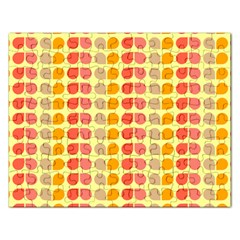 Colorful Leaf Pattern Jigsaw Puzzle (rectangle) by creativemom
