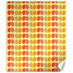 Colorful Leaf Pattern Canvas 20  X 24  (unframed) by creativemom