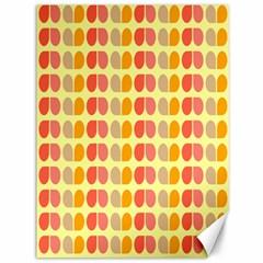 Colorful Leaf Pattern Canvas 36  X 48  (unframed) by creativemom