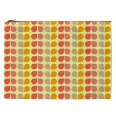 Colorful Leaf Pattern Cosmetic Bag (xxl) by creativemom