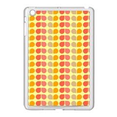 Colorful Leaf Pattern Apple Ipad Mini Case (white) by creativemom