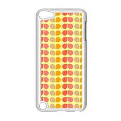 Colorful Leaf Pattern Apple Ipod Touch 5 Case (white) by creativemom