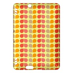Colorful Leaf Pattern Kindle Fire Hdx Hardshell Case by creativemom