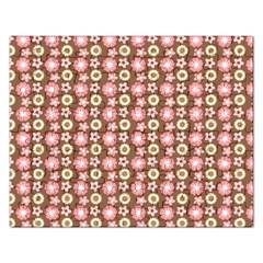Cute Floral Pattern Jigsaw Puzzle (rectangle) by creativemom