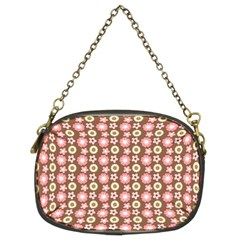 Cute Floral Pattern Chain Purse (two Sided)  by creativemom