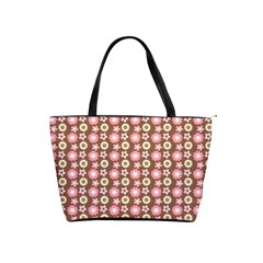 Cute Floral Pattern Large Shoulder Bag by creativemom