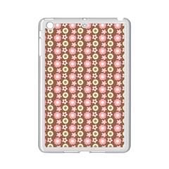 Cute Floral Pattern Apple Ipad Mini 2 Case (white) by creativemom